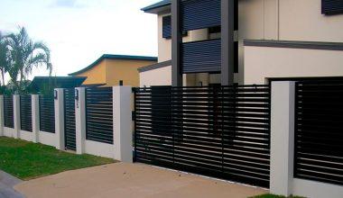 Pintar las rejas de exterior de una casa