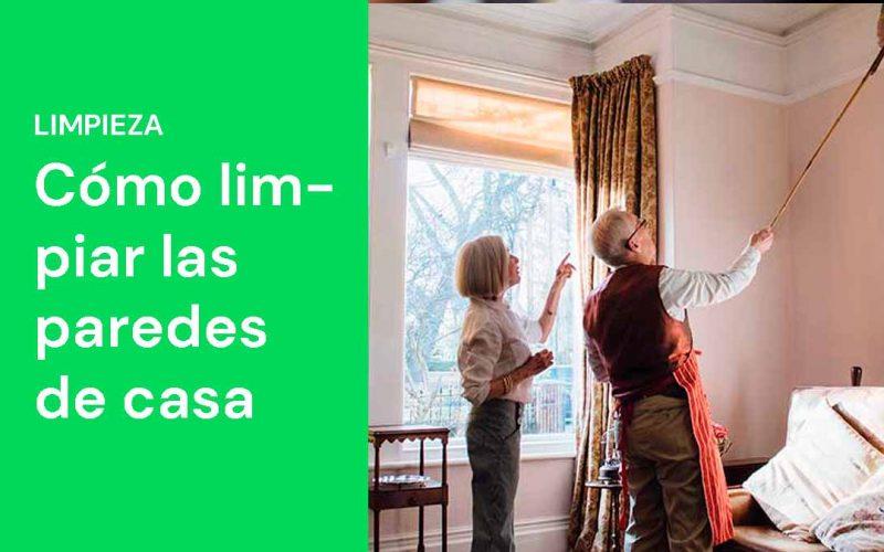 Cómo limpiar las paredes de casa
