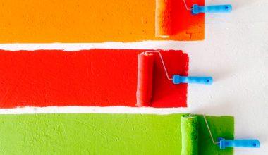 Cómo pintar una superficie de tu casa con rodillo