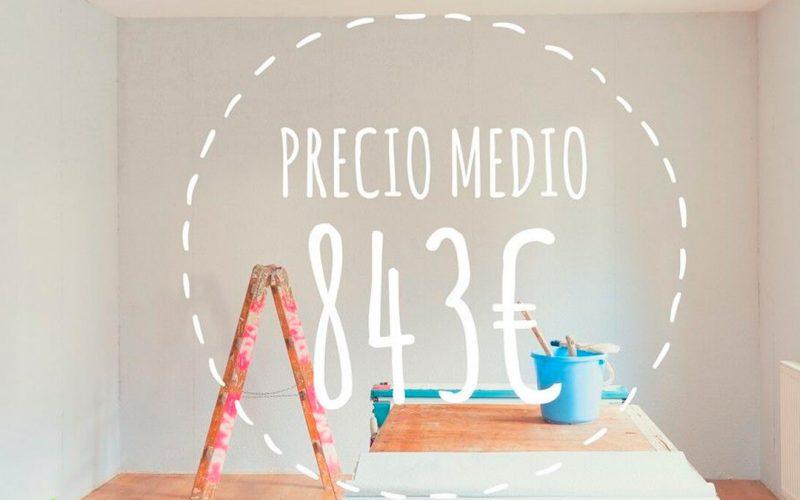 Cuánto cuesta pintar un piso por un pintor profesional