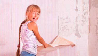 Quitar el papel pintado fácilmente de la pared